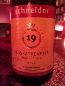 SchneiderCiderMuskatreinette2011
