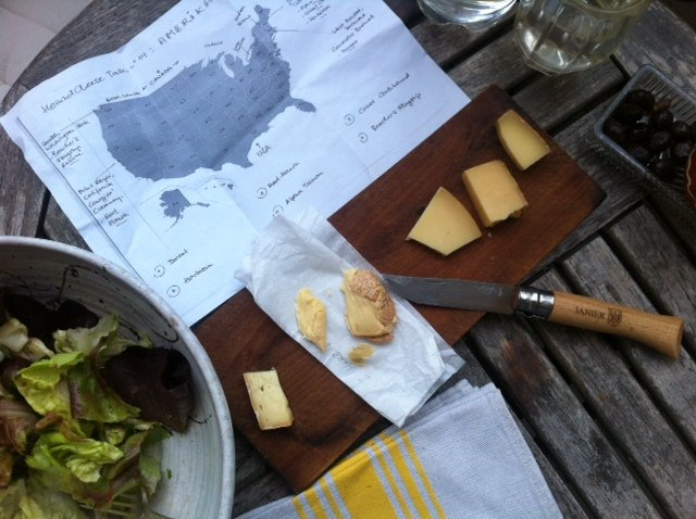 American cheese map