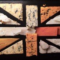 UK cheese flag