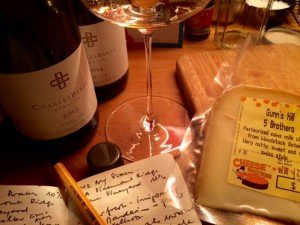Ontario Riesling and Ontario cheese