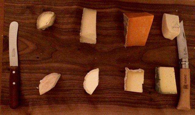 UK cheese plate