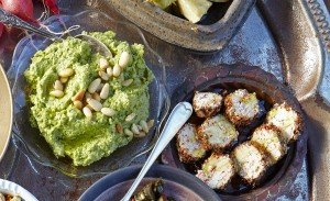 Green pea HUMMUS & Chankish M