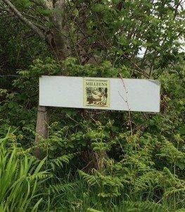 Milleens sign